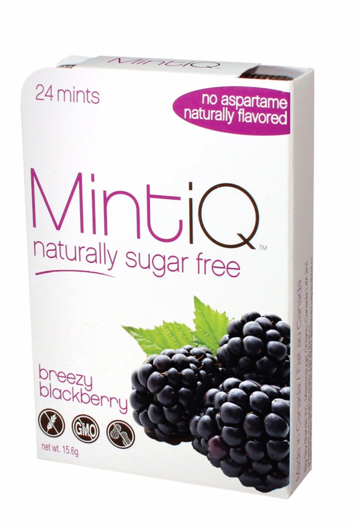 MintiQ Naturally Sugar Free Blackberry 15g