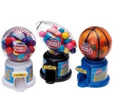 Dubble Bubble Hot Sports Gumball Dispenser 40g