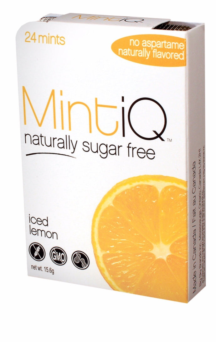 MintiQ Naturally Sugar Free Lemon