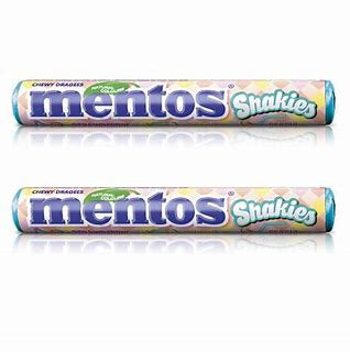 Mentos Shakies Strawberry Banana Flavour