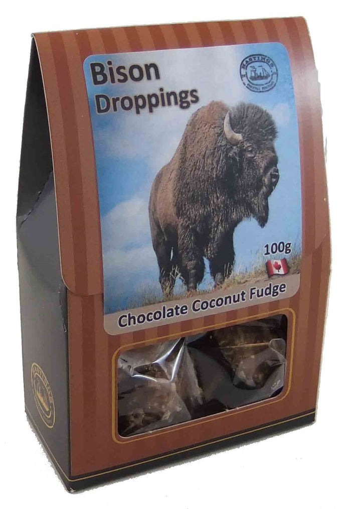 Bison Droppings Chocolate Coconut Fudge