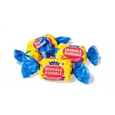 Dubble Bubble Gum individually Wrapped