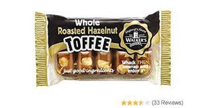 Walkers Whole Roasted Hazelnut Toffee 100g