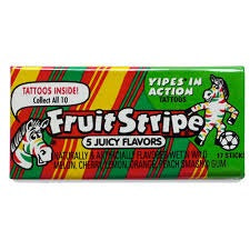 Fruit Stripe 5 Juicy Flavors Gum
