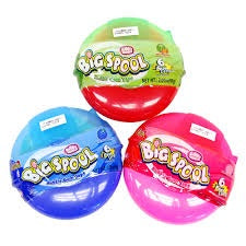 Hubba Bubba Big Spool Bubble Gum Tape 58 g