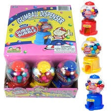 Dubble Bubble Hot Gumball Machine 50g