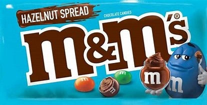 M&M's Share Size Bag Hazelnut Spread 72g
