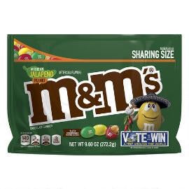 M&M's Flavor Vote Mexican Jalapeno Peanut Share Size 93g