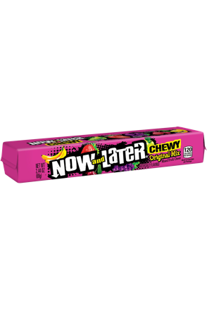 Now and Later Original Mix Mixed Fruit Chews 69g
