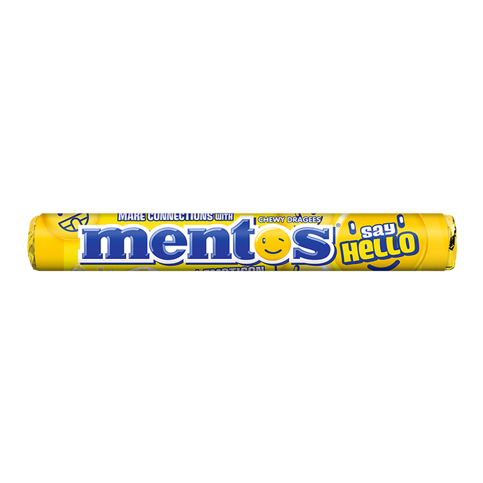 Mentos Drop Say Hello