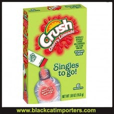 Crush Singles to Go Drink Mix, Cherry Limeade