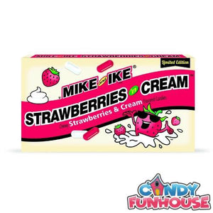 Mike and Ike Strawberries 'n Cream 141 g x 12
