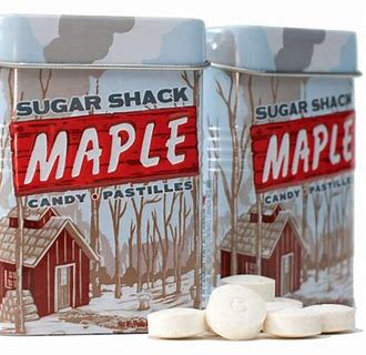 Sugar Shack MAPLE Candy Pastilles 30g
