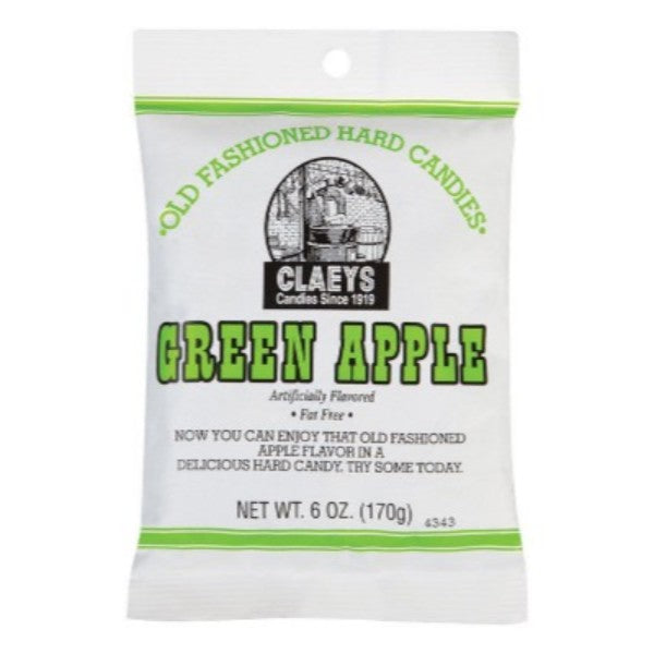 Claeys Old Fashioned Hard Candies Green Apple