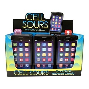Cell Sour Smart Fruit Flavored Candy