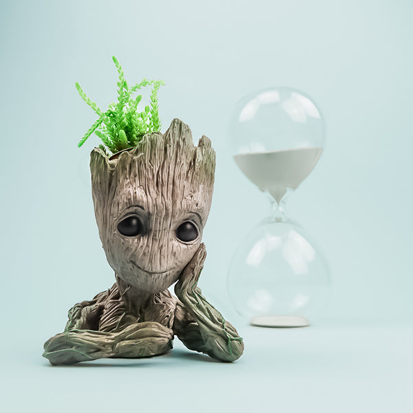 Baby Groot Flower Pot & Pen Holder - Greenpills