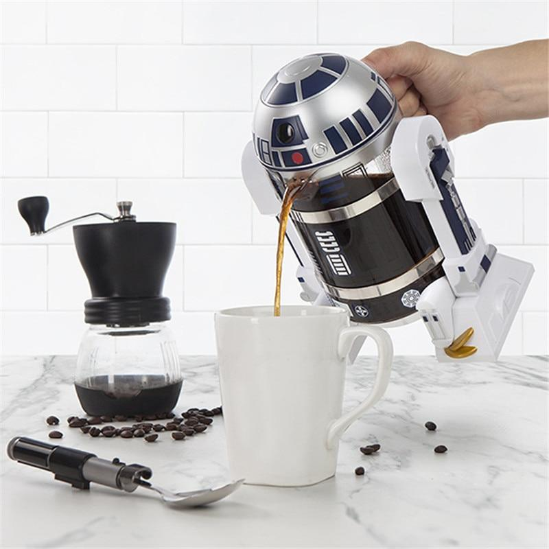 Star Wars' R2D2 Coffee French Press - Greenpills World