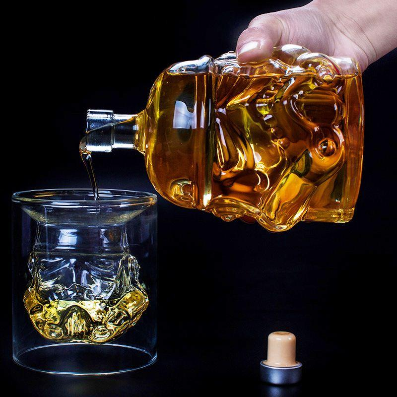 Star Wars Bottle & Glasses - Greenpills World