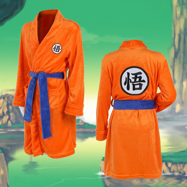 Goku Bathrobe - Greenpills World