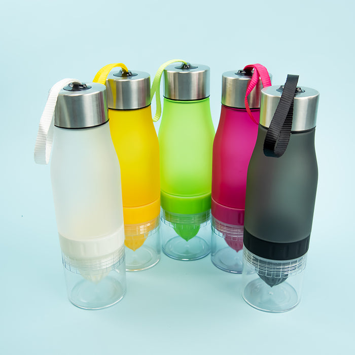 Infusion-Juicer Water Bottle (7 Colors) - Greenpills
