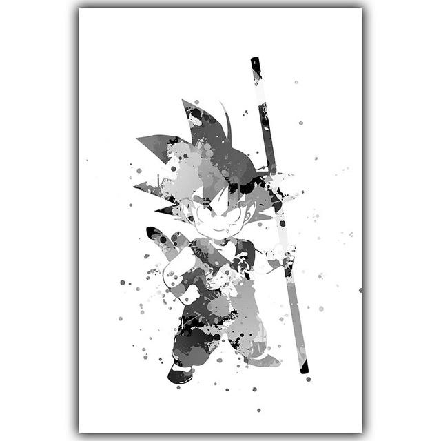 Canvas Goku Poster (Dragon Ball) - Greenpills