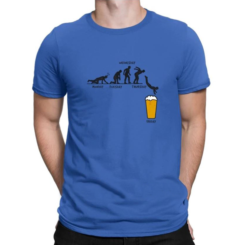 The evolution of the week - T-shirt - Greenpills World