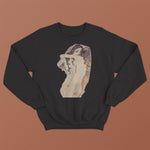 Egon Schiele Sweatshirt - Two Woman Embracing