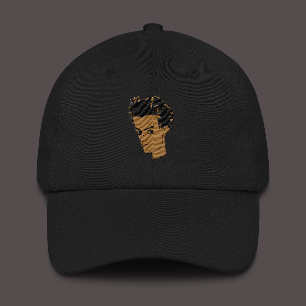 Egon Schiele Self Portrait Embroidery Dad hat