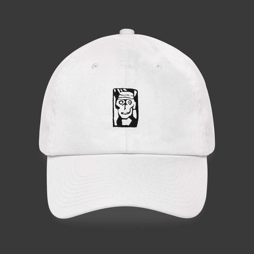 Man Head Egon Schiele Dad Hat Embroidery