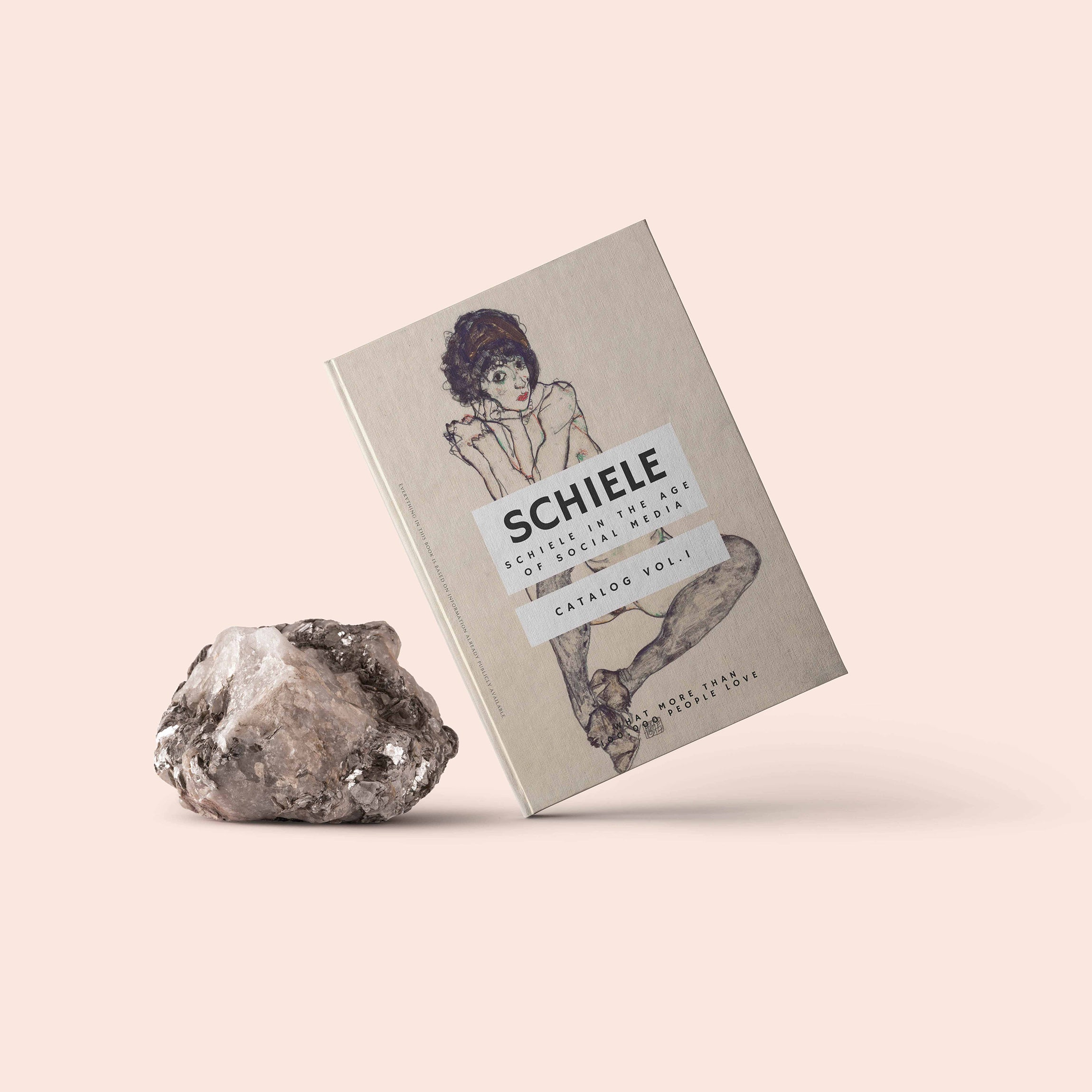 "Schiele ""Schiele in the age of Social Media"" - Hard Cover Book"