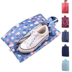 Travel Shoe Bag with Zipper