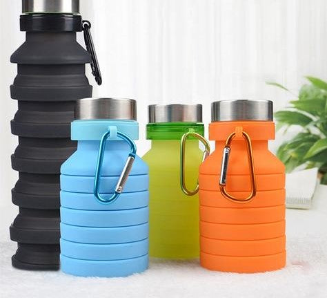 Travel Collapsible Water Bottle
