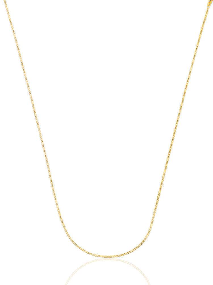 #13405 - 14K Solid Gold Mariner Chain