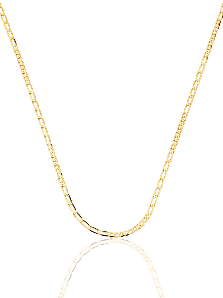#17964 - 14K Solid Gold Link Chain