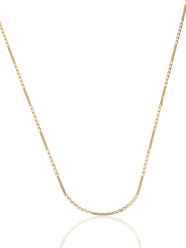 #17966 - 14K Solid Gold Link Chain