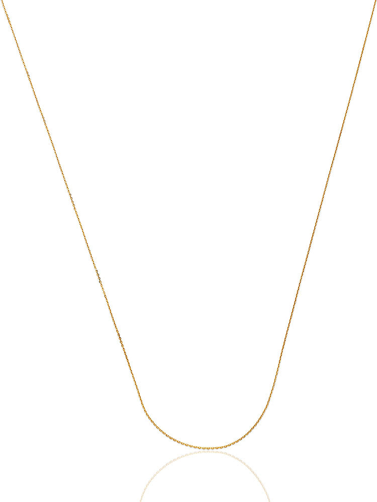 #202949 - 14K Solid Gold Rolo Chain