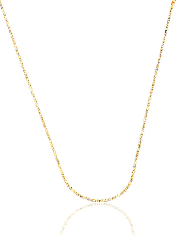 #21432  - 14K Solid Gold Valentino Chain