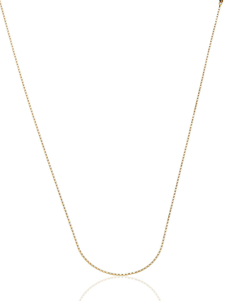 #22244 - 14K Solid Gold Valentino Chain in Two-Tone
