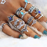 Blue Dream Ring Set