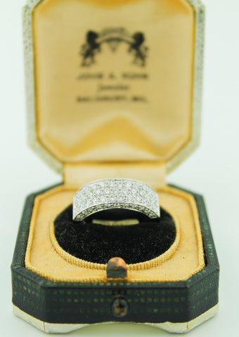 Diamond Pave White Gold Ring - Kuhn's Jewelers