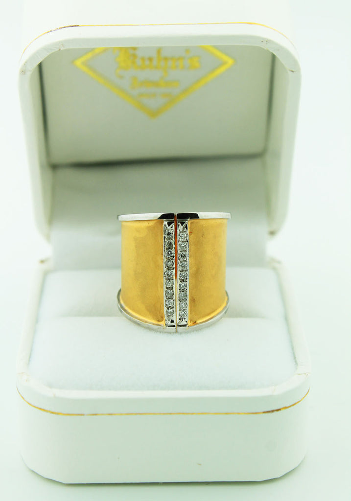 Split Shank Finished Edge Ring - Kuhn's Jewelers