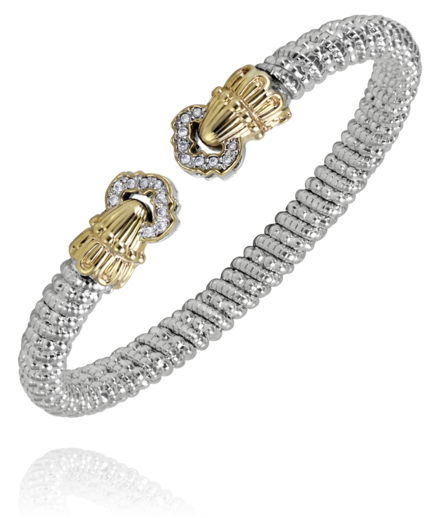 Sterling Silver & 14K Yellow Gold Vahan Bracelet