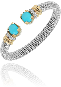 Vahan 6mm Turquoise - Kuhn's Jewelers