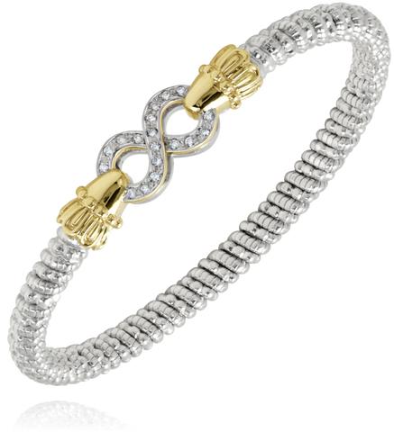 Vahan - 14K Gold & Sterling Silver Diamond Bracelet - Kuhn's Jewelers - 22823D04