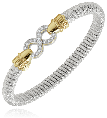 Vahan - 14K Gold & Sterling Silver Diamond Bracelet - Kuhn's Jewelers - 22823D06