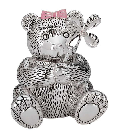 Girl Bear Bank - Kuhn's Jewelers