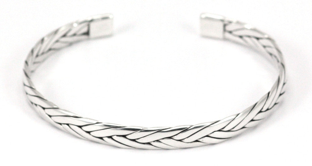 Braided Sterling Silver Bracelet - Kuhn's Jewelers