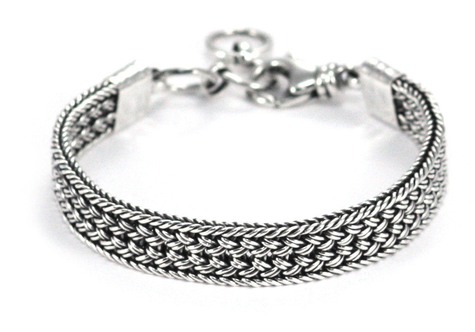 Bali Braided Adjustable Link Bracelet - Kuhn's Jewelers