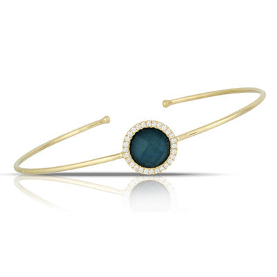 Doves - Midnight Ocean Bangle - Kuhn's Jewelers