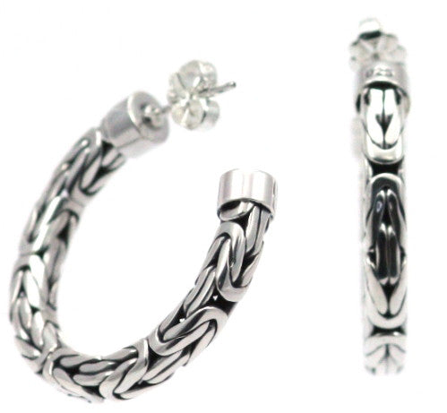 Sterling Silver Hoop Earrings - Kuhn's Jewelers